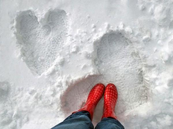 Первый снег: идеи для романтической фотосессии