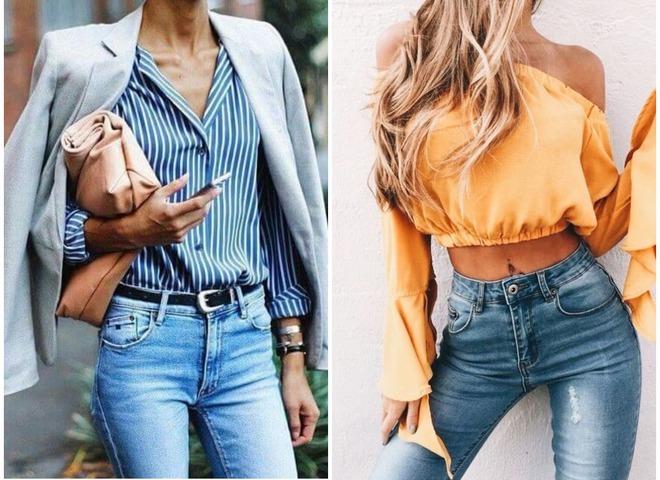 Узнай, как правильно носить брюки с высокой талией в 2018 году
