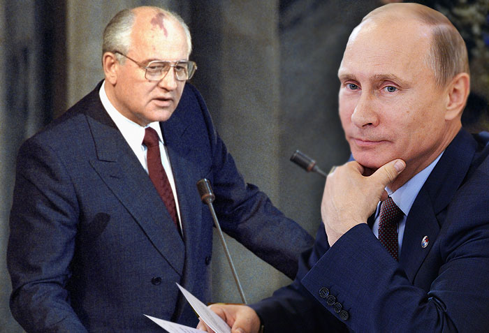 Путин против Горбачева: где ложь, где правда, кто продался?