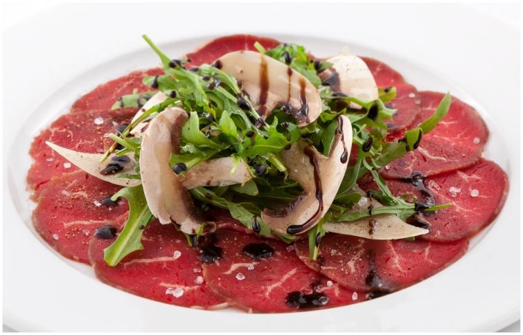 Карпаччо Блюда итальянской кухни блюда Италии