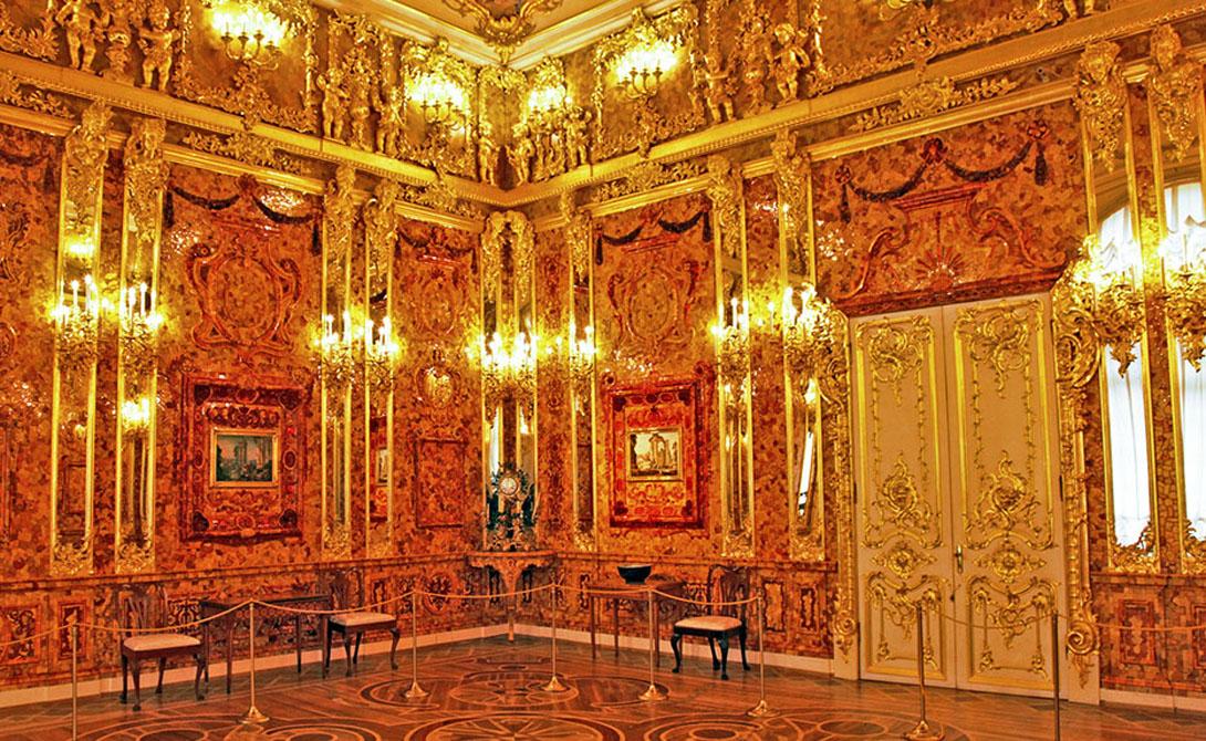Тайна потерянной Янтарной комнаты. Где она в итоге?