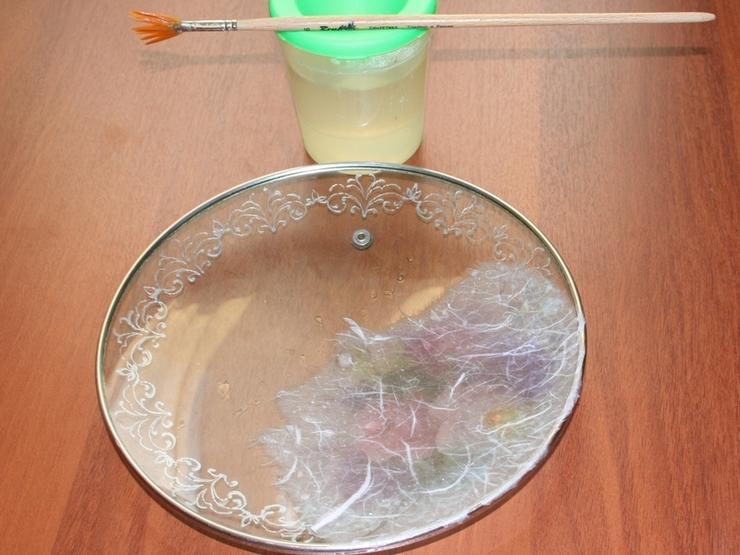 Как сделать стеклянную крышку