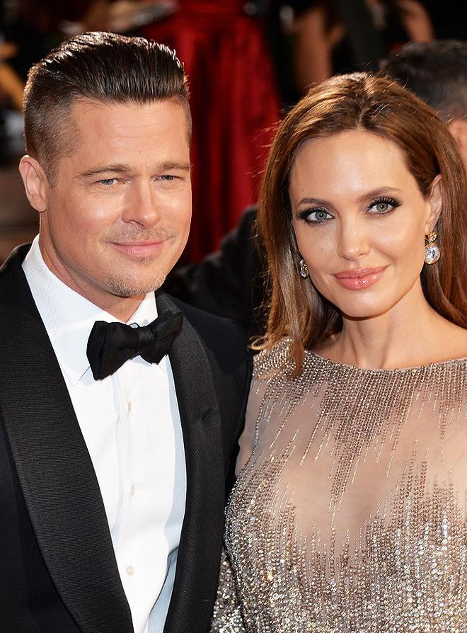 Анджелина Джоли и Брэд Питт: история любви в картинках