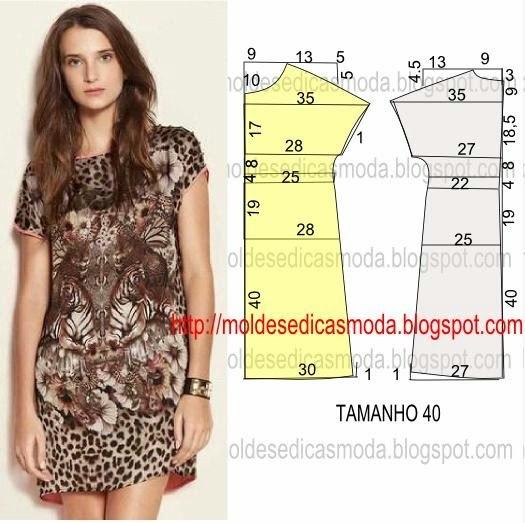 Как сшить летнее платье большого размера