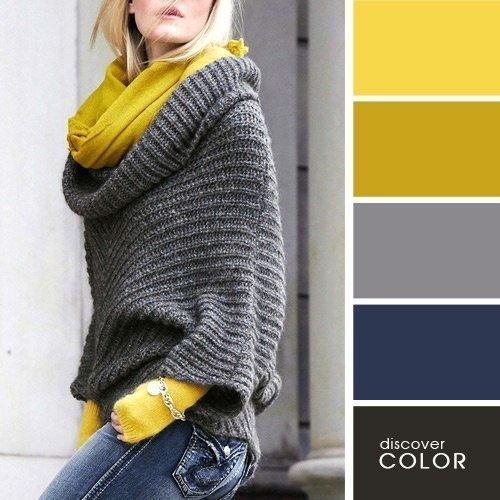 Деловая мода: 20 стильных цветовых сочетаний для офиса