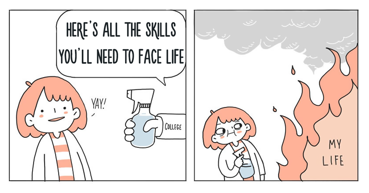 30 Comics That Perfectly Describe What It's Like To Have Depression And Anxiety