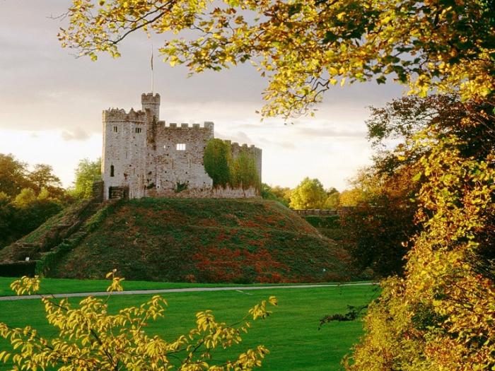 Замок Кардифф. Великобритания.