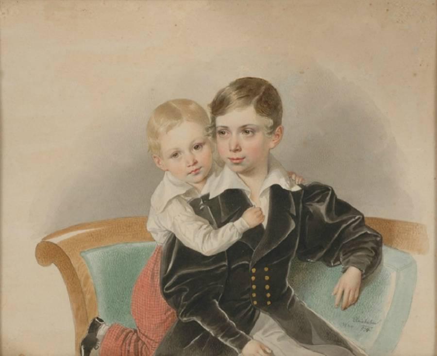 Йозеф Крихубер ( osef Kriehuber) 1880-1876. Австрия