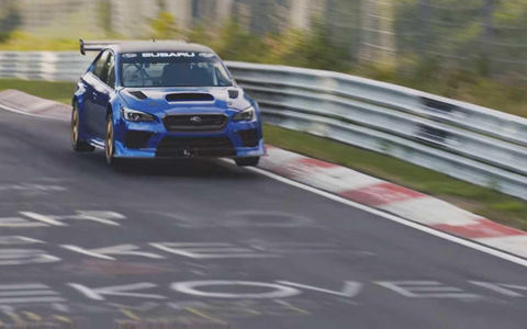 Subaru WRX STI стал самым быстрым четырехдверным седаном