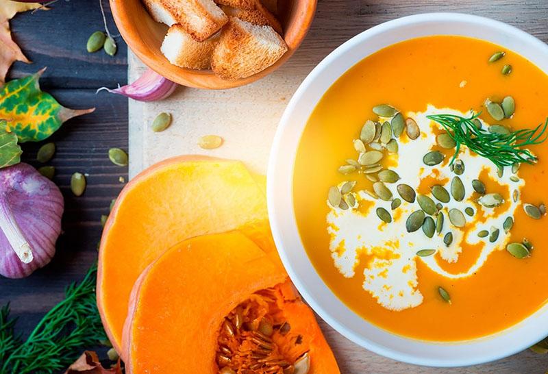 суп в тыкве