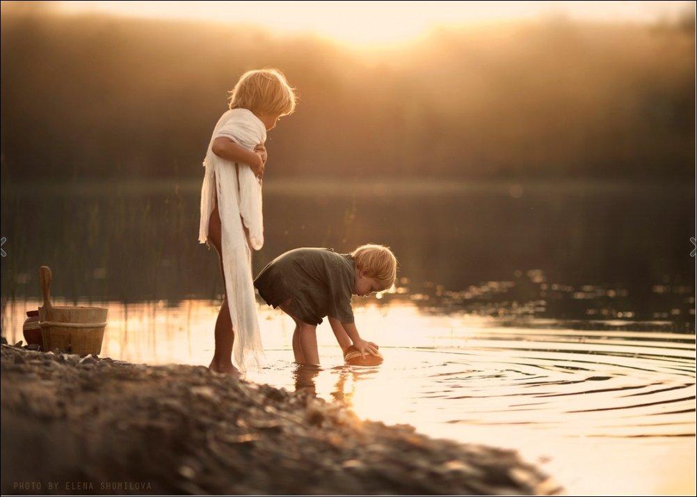 Лето, деревня, детство