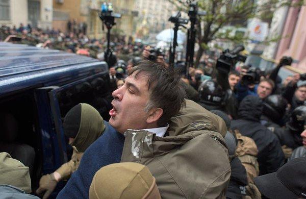 Саакашвили vs Украина: затянувшаяся клоунада