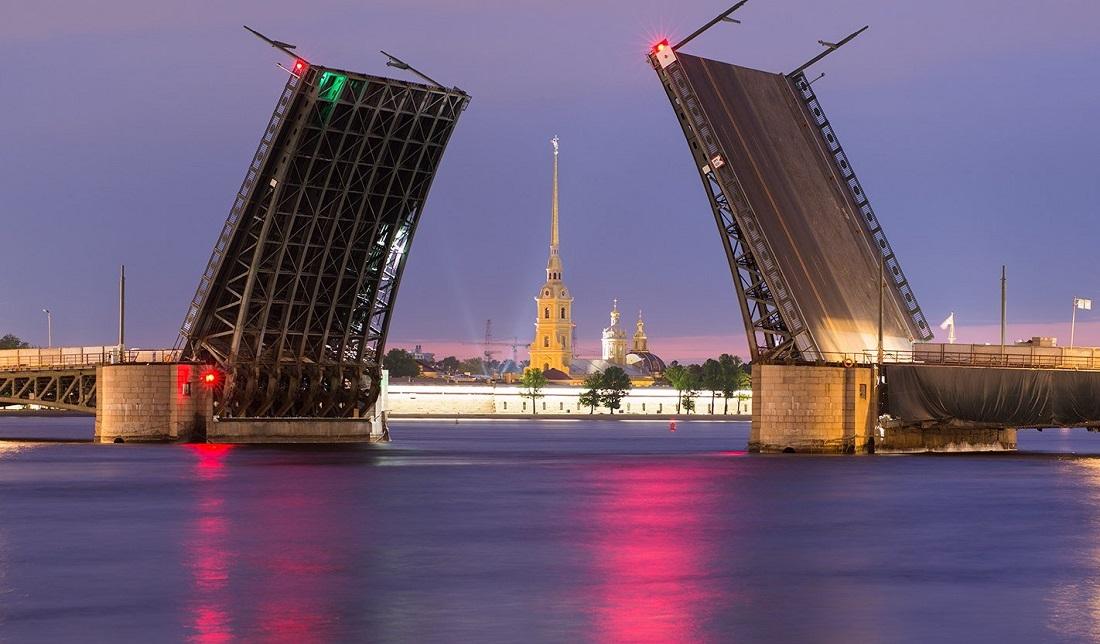 Санкт-Петербурге, оазвод мост санк петербург интернете