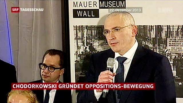 SRF: Олигарх Ходорковский объединит всю оппозицию в интернете