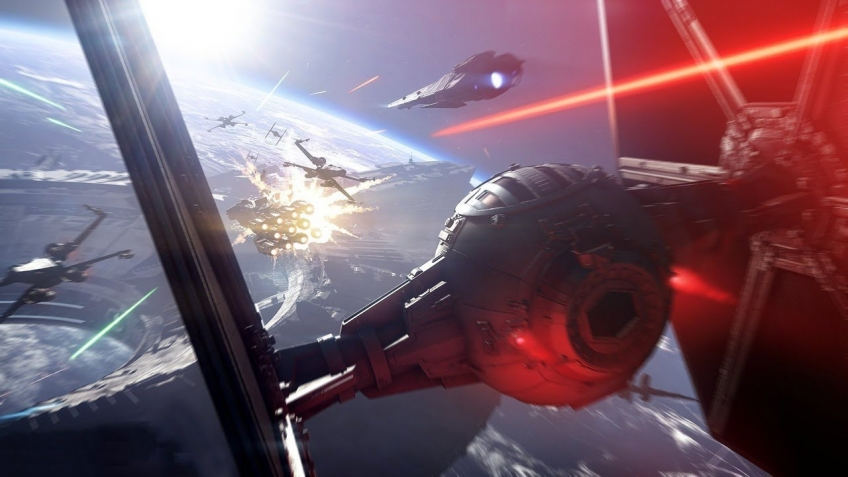Пилот бомбардировщика TIE записал игровой процесс Star Wars Battlefront 2
