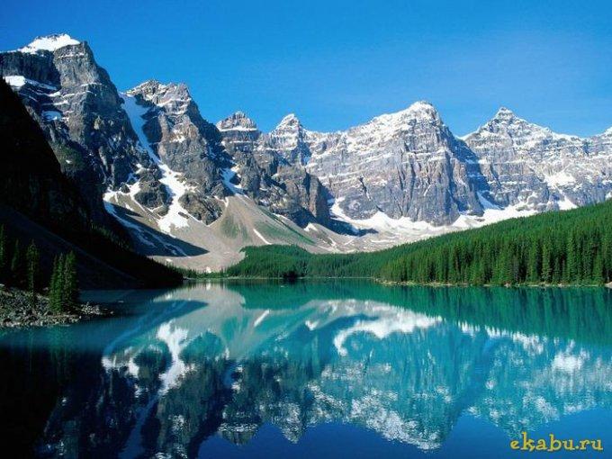 Отражения в озерах