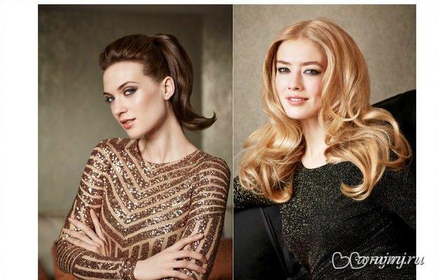 В Новый год красивыми: 2 варианта праздничной прически для длинных волос