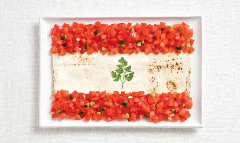 lebanon 700x476 Вкусные флаги мира