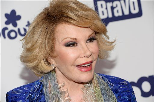 "Joan Rivers' Daughter Melissa Releases Statement About Fashion Police Host's Condition, Says She's ""Resting Comfortably"""