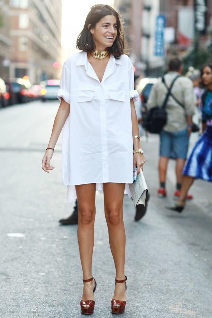 С какой обувью носить платье-рубашку — советы стилистов