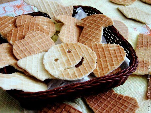 Печенье на электровафельнице рецепт пошагово в