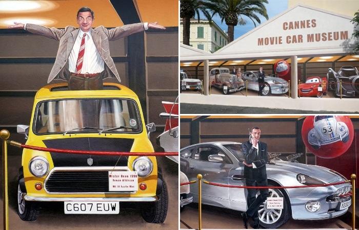Торговые павильоны тоже могут «посещать» знаменитые актеры (Patrick Commecy & A.Fresco). | Фото: artofcare.ru.