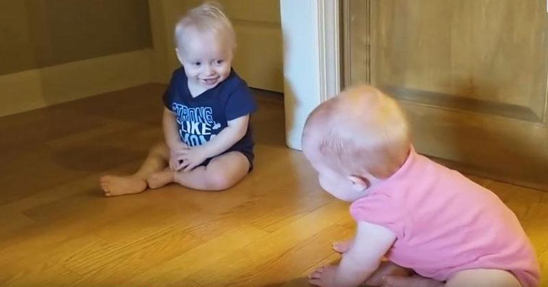 Маленькие близнецы поняли, ч…