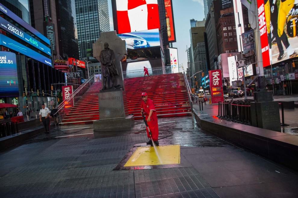 Один день жизни Таймс-сквер