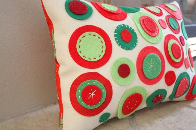 Изготовление декоративных подушек своими руками