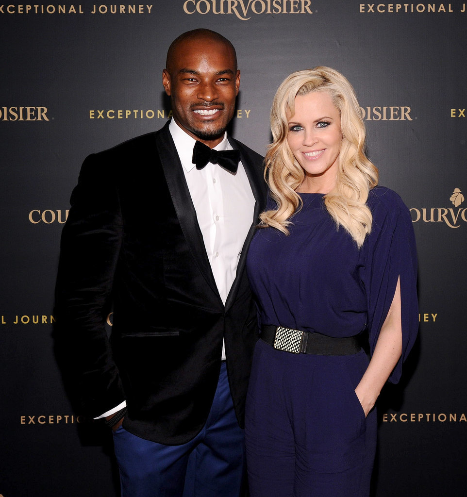 Pals Tyson Beckford and Jenny McCarthy