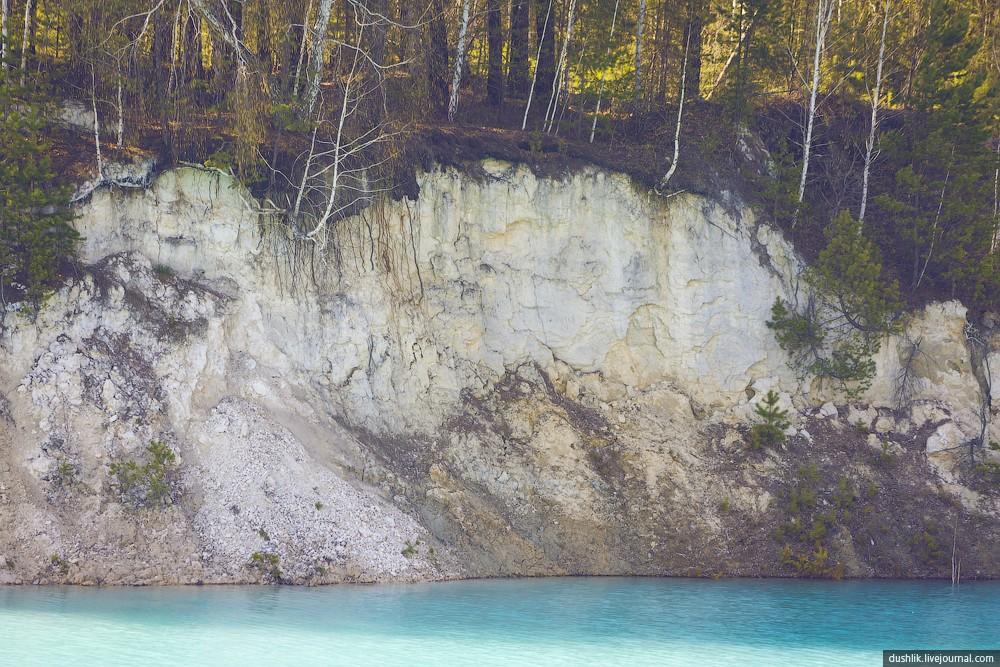 UralBali07 Бывший Кыштымский каолиновый карьер, или Уральский Бали