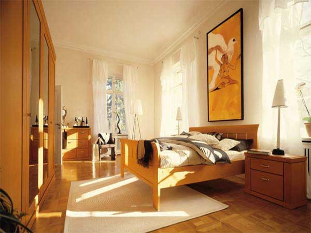 Морской дизайн спальни
