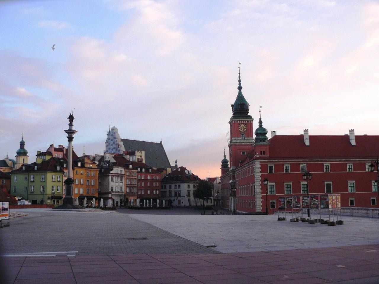 Прогулка по Варшаве.