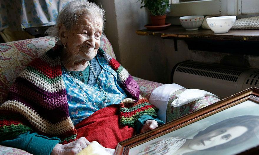 Женщина из XIX века (последняя на планете!) делится секретом долголетия