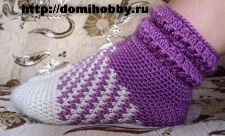 Мастер-класс вязания носков