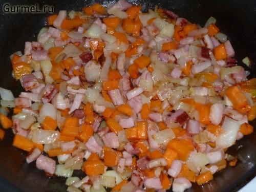 P1110592 500x375 Картофель с сыром и беконом   Gurmel