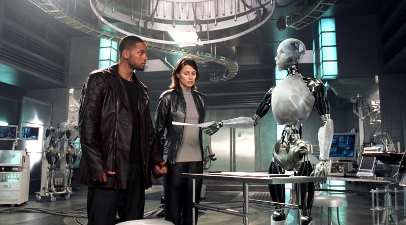 Я, робот (2004) кино, компьютеры, технологии, фильмы