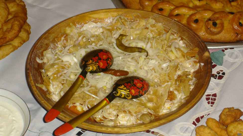 Рецепт таджикского блюда курутоб пошагово