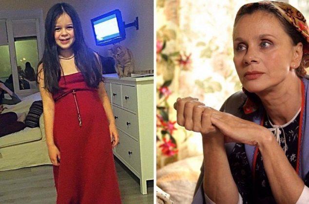 7-летняя внучка Любови Полищук поражает сходством со своей знаменитой бабушкой