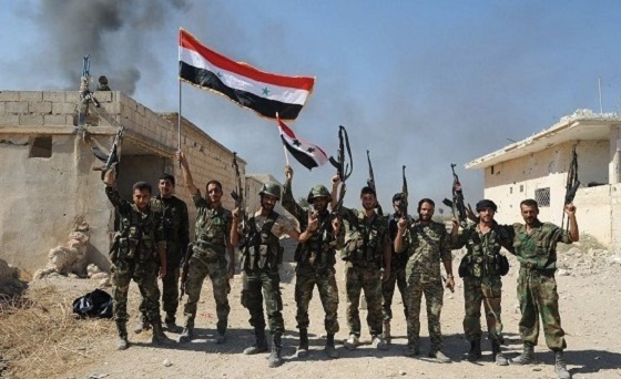 Впервые за четыре года армия Сирии вышла на берег Евфрата восточнее города Хафса