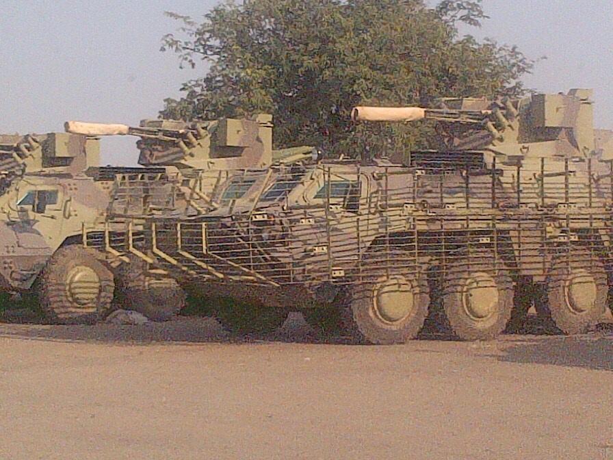 Срыв контракта на поставку Нигерии украинских БТР-4ЕН(КН)