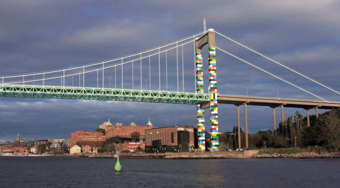 Lego мост