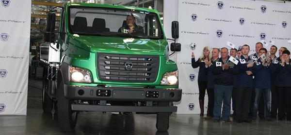 На Горьковском автозаводе запущено производство «ГАЗон NEXT»