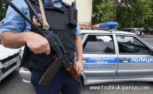 Нападение на полицейских в Каспийске. Фото (+18)