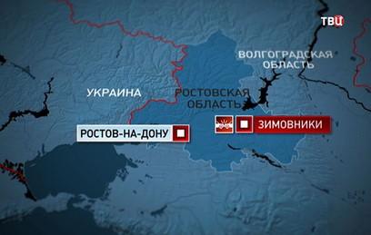 В Ростовской области в ДТП с микроавтобусом погиб один человек