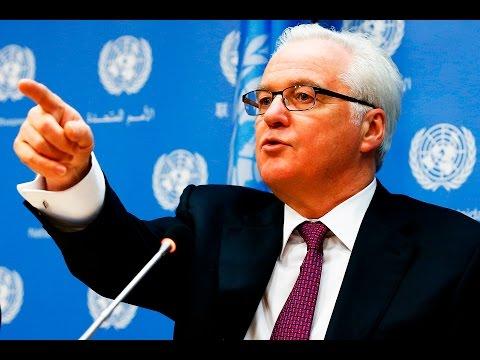 На экстренном заседании СБ ООН Саманта Пауэр обвинила РФ в совершении преступлений в Алеппо, Чуркин ей резко ответил