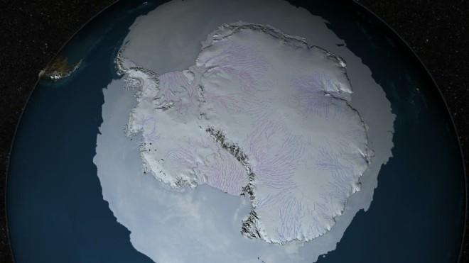 Под льдами Антарктиды найдено более 100 вулканов. Что будет если они проснутся