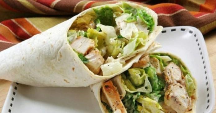 Полезный сэндвич, для тех, кто на диете