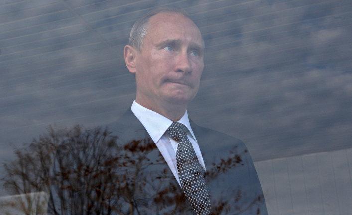 """Премьер-министр РФ В.Путин на церемонии запуска магистрального газопровода """"Сахалин - Хабаровск - Владивосток"""""""