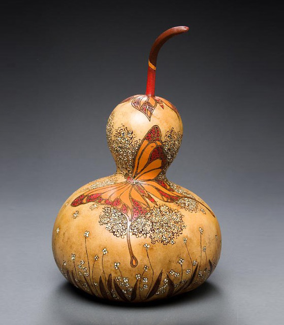 Осенняя тыква, как холст
